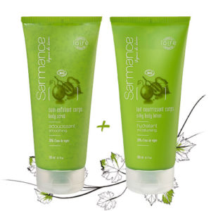 Offer - Body scrub + Silky body lotion