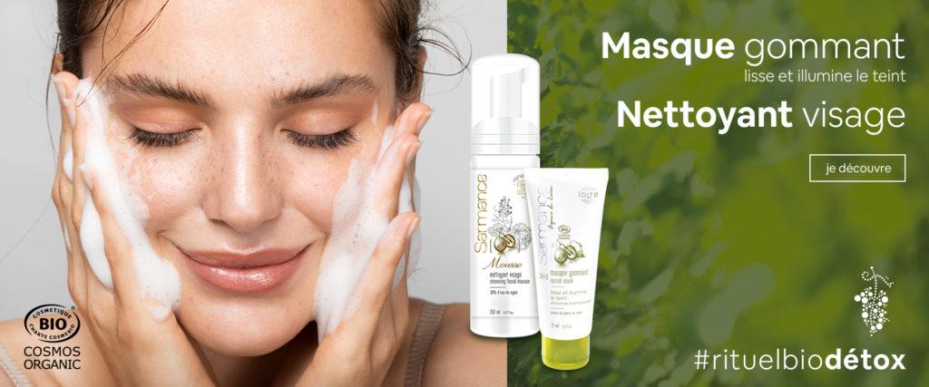 nettoyant visage mousse eau micellaire